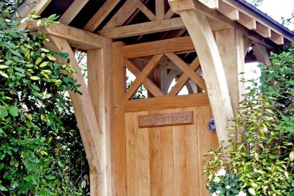 Timber Porch Construction