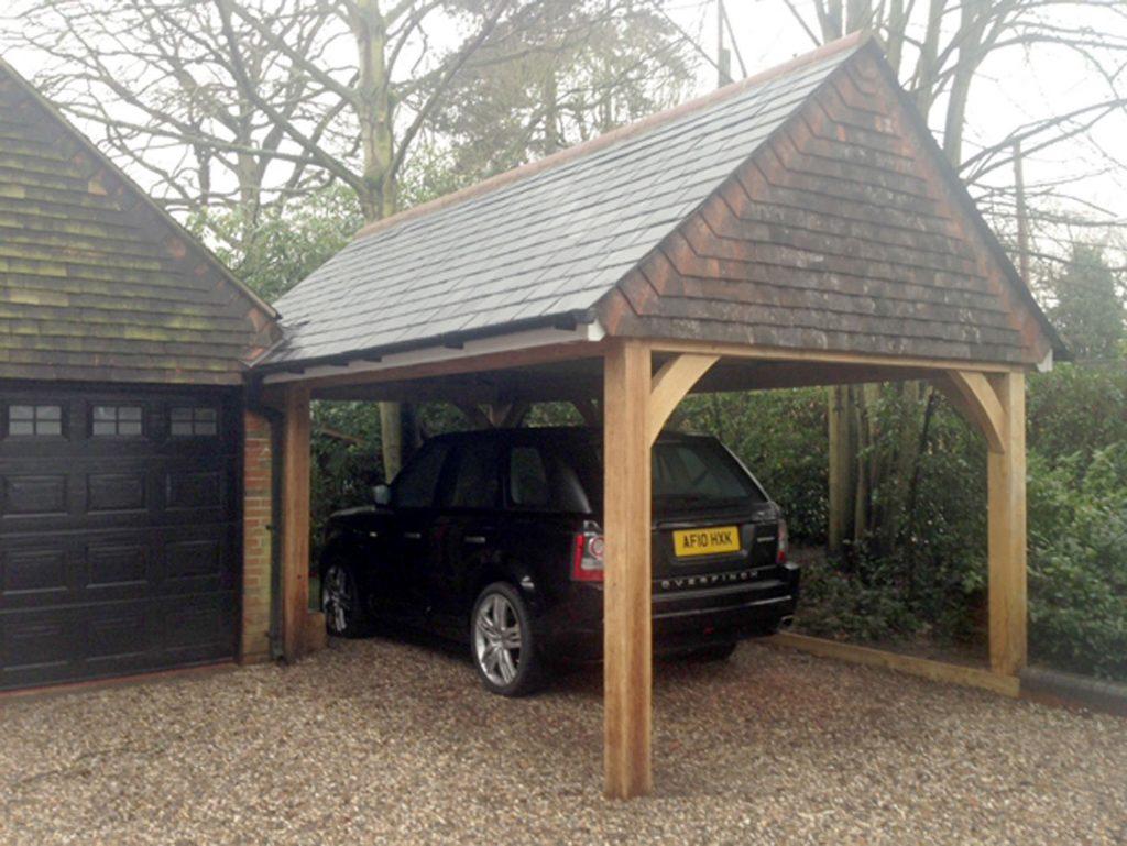 Timber Carport Construction