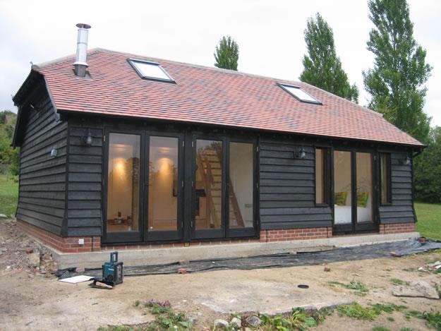 Timber Garden Room Construction