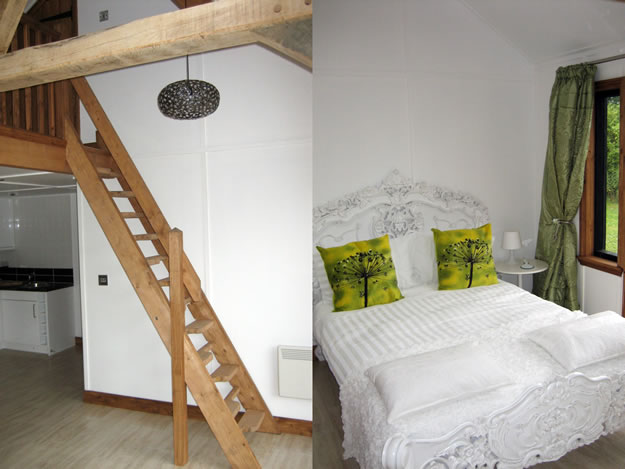 Timber Garden Room Interior Bedroom