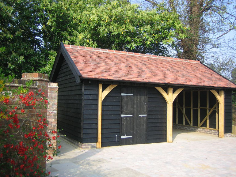 Timber Frame Garden Shed