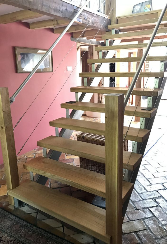 Bespoke Timber Joinery and Carpentry Staircase