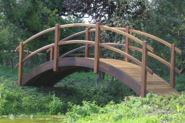 Timber Garden Bridge
