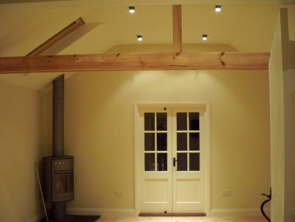 Timber Building Interior