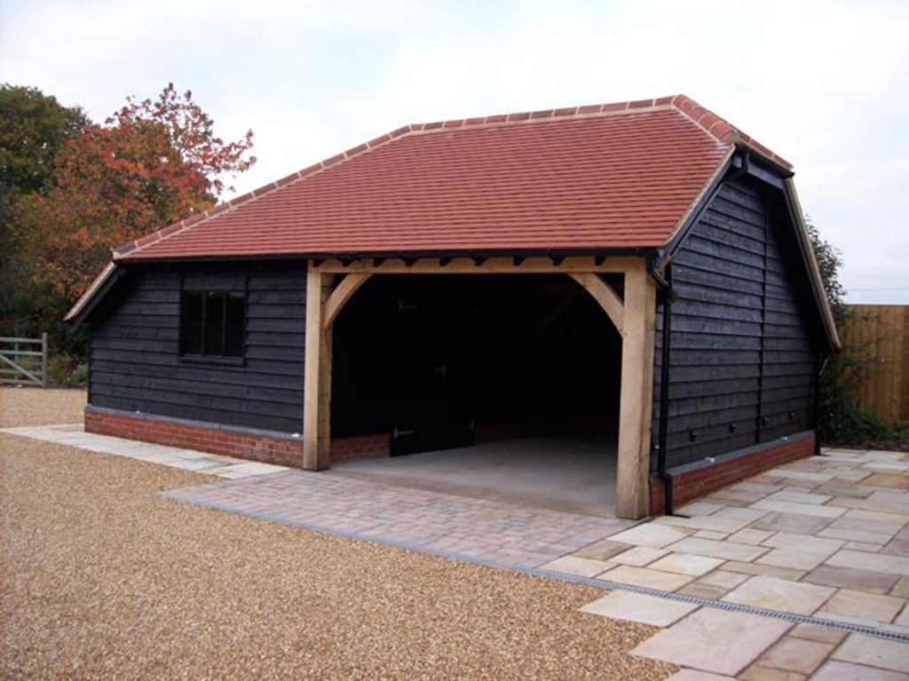 Cartlodge with carports