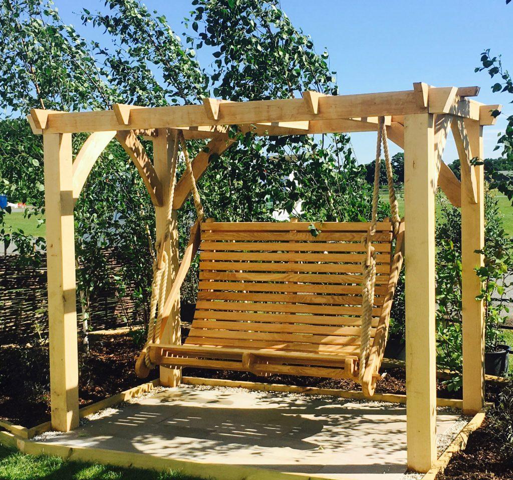Bespoke Timber Garden Swing