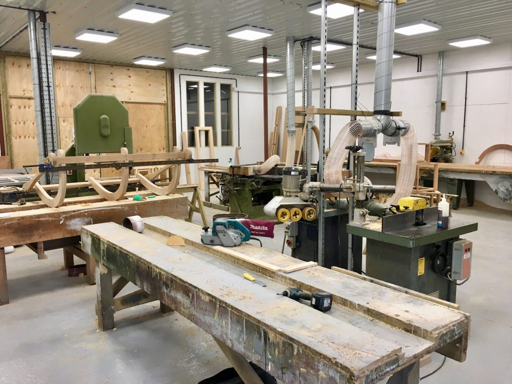 Bespoke Timber Joinery and Carpentry Workshop Suffolk