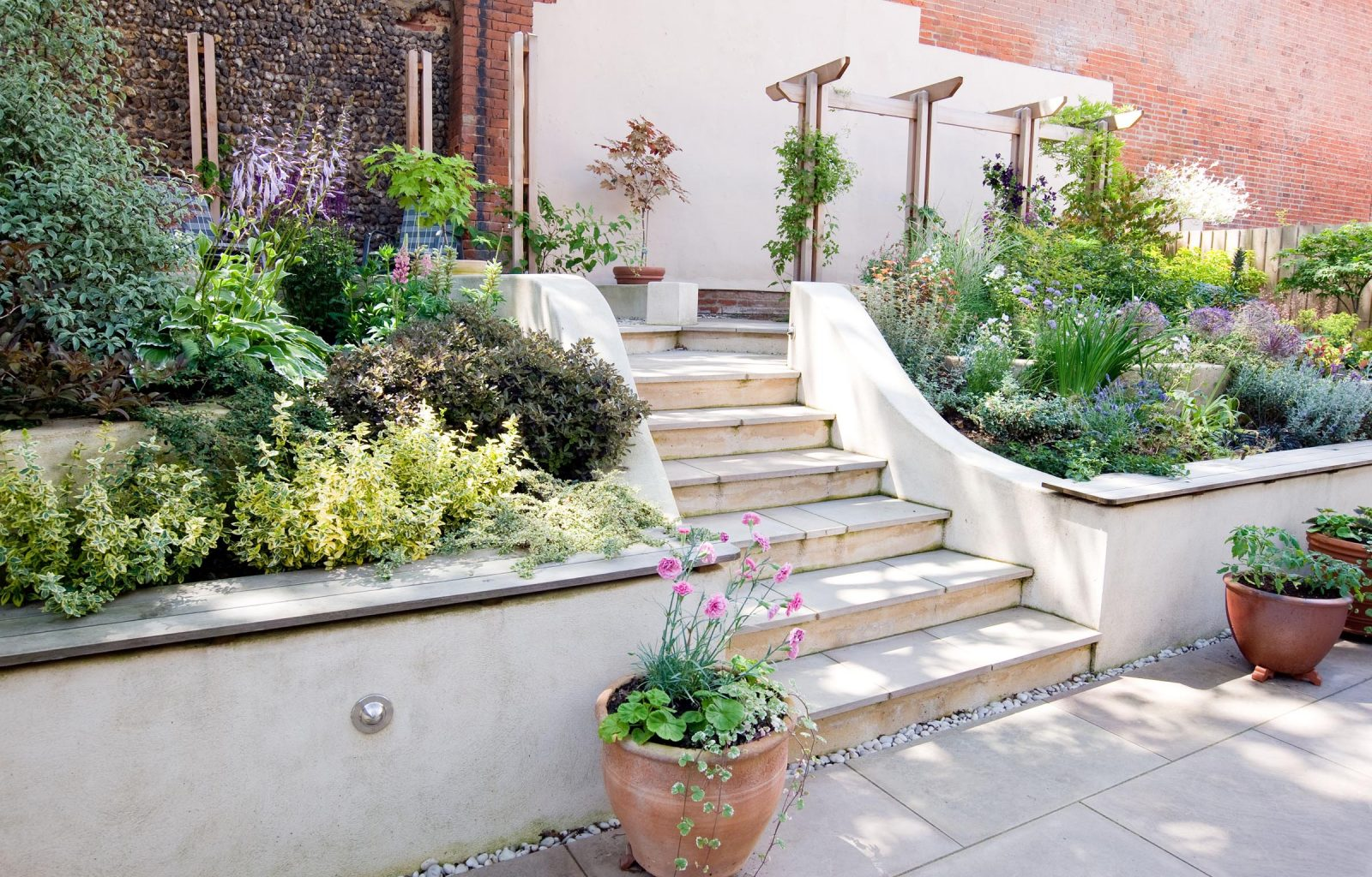 Small Garden Courtyard Landscaping