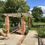 landscaping garden design award winning pergola