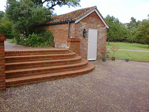 brickwork steps