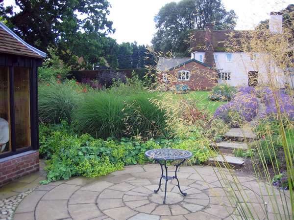 planting and soft landscaping garden path