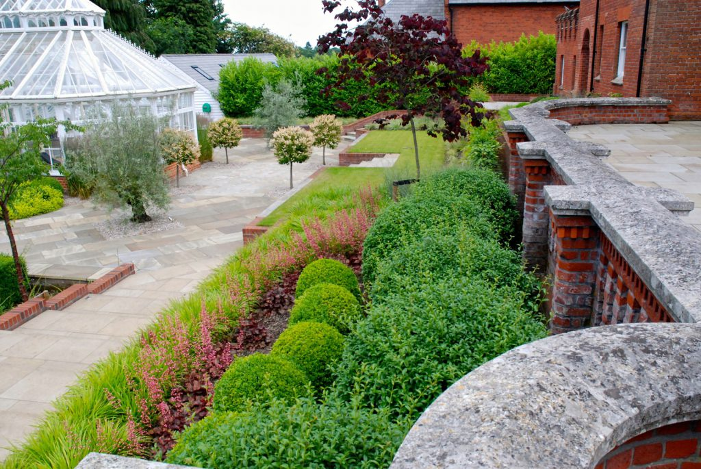 planting and soft landscaping shrubs